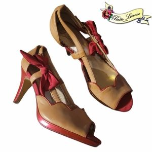 """""""A Preppy Lady"""" Heels by Poetic Licence"""